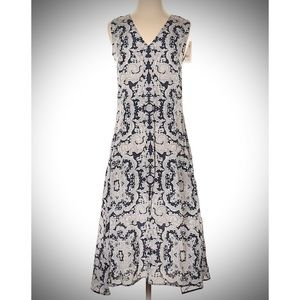 NWT Theory Nophella Stretch Silk Dress, 4